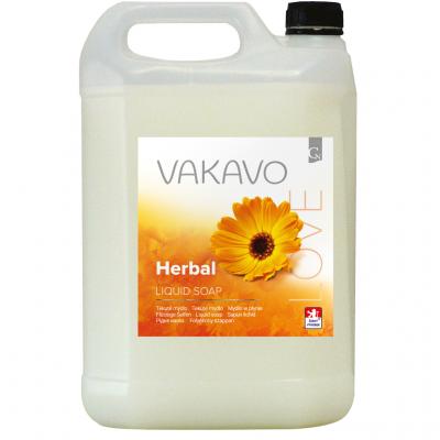 Tekuté mydlo 5 l Vakavo Herbal - biele