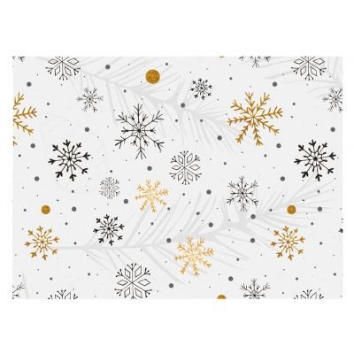 Vianočný papier LUX 70x200 cm