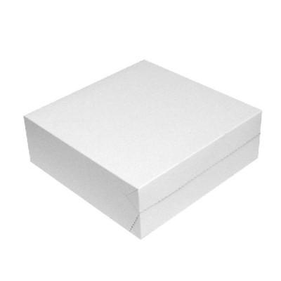 Krabica tortová VLNITÁ LEPENKA 250x250x100 mm / bal. 50 ks