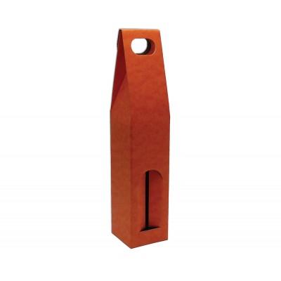Krabica na 1 fľašu Oranžová