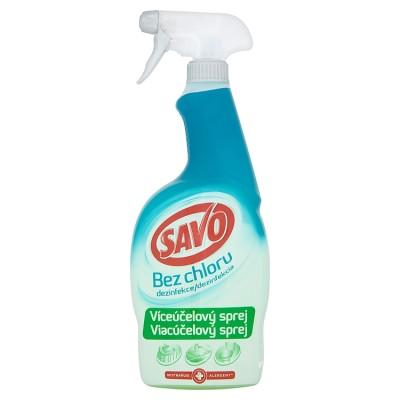 SAVO univerzálna dezinfekcia bez chlóru Antibakteriálna 700 ml