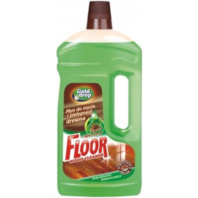 FLOOR Mydlový čistiaci prostriedok na drevené podlahy 1 l