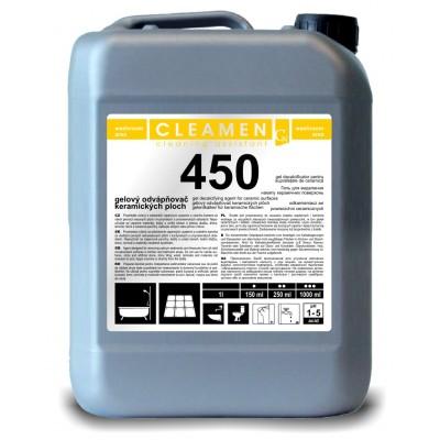 CLEAMEN 450 Vysokoúčinný odvápňovač plôch 5 l