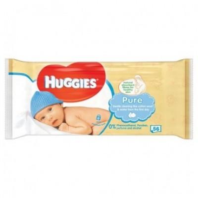 HUGGIES Vlhčené utierky detské 56 ks