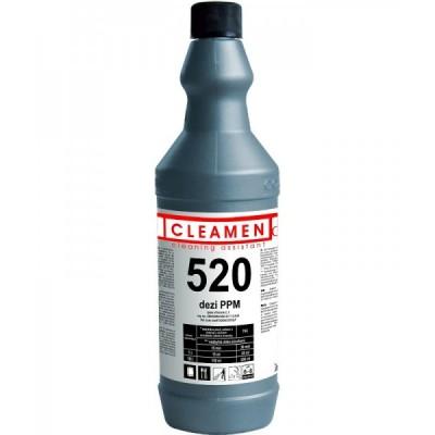 CLEAMEN 520 dezi PPM Vysokoúčinný dezinfekčný a čistiaci prostriedok 1 l