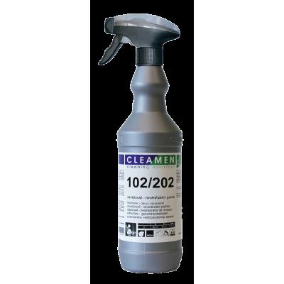 CLEAMEN 102/202 Neutralizátor pachov s vôňou na všetky povrchy 1 l