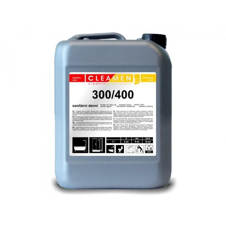CLEAMEN 300/400 Čistiaci prostriedok na údržbu sanity s príjemnou vôňou 5 l