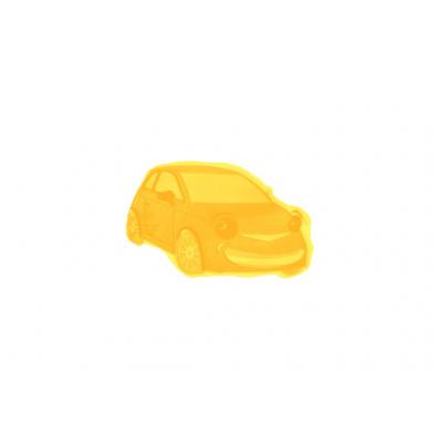 FREPRO Gélový osviežovač AUTO, Vôňa kvetov (Žltý)