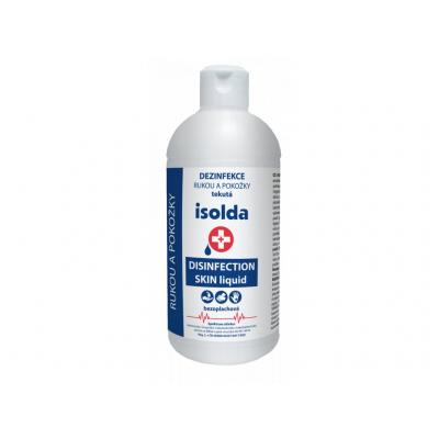 ISOLDA Medispender Tekutá bezoplachová dezinfekcia pokožky 500 ml