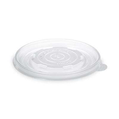 Viečko BIO PLA na misku papierovú na polievku 400/550/950 ml Priehľadné / bal. 50 ks