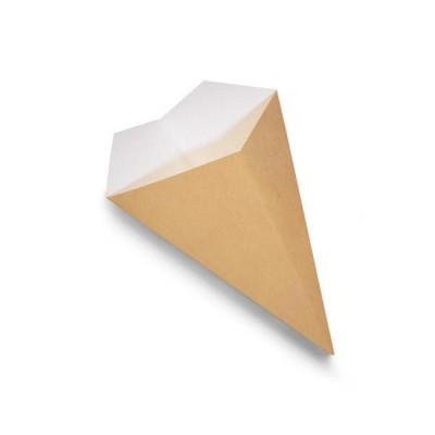 Kornút papierový na ovozel Hnedý / bal. 100 ks