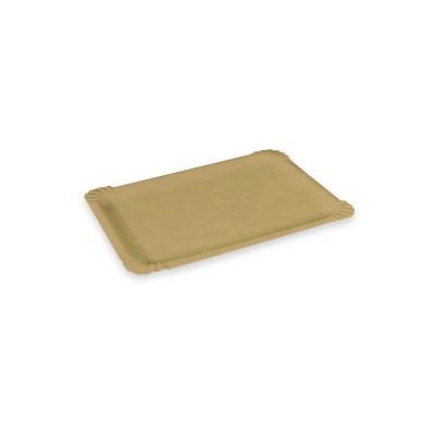 Tácka BIO papierová T3 10x16 cm Nepremastiteľná Hnedá / bal. 250 ks