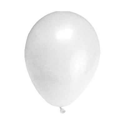 Balóniky M Biele / bal. 100 ks