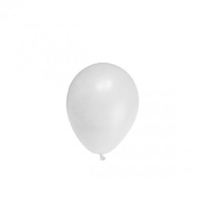 Balóniky M Biele / bal. 10 ks