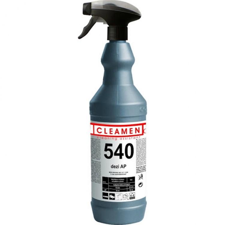 CLEAMEN 540 dezi AP Vysokoúčinný dezinfekčný prostriedok na alkoholovej báze 1 l