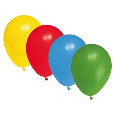 Balóniky L Farebný mix / bal. 10 ks