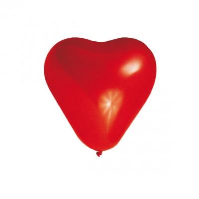 Balóniky L Srdce červené / bal. 5 ks