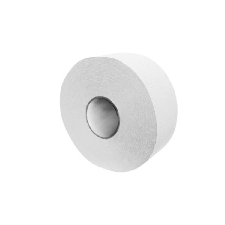 Toaletný papier JUMBO pr. 19 cm pevný Biely