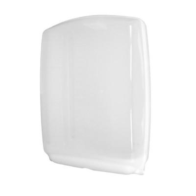 Zásobník MAXI na ZZ uteráky plastový Hyg Soft Biely