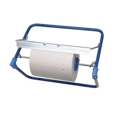 Odvinovač na utierky nástenný kovový š. 51 cm Modrý