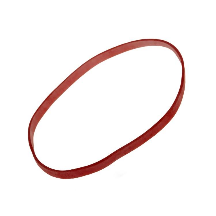 Gumičky pr. 100 mm, hrúbka 5 mm Červené / bal. 1 kg