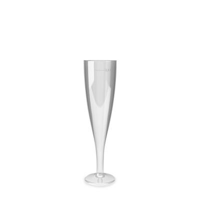 Pohár krištáľový 100 ml na šampanské / bal. 6 ks