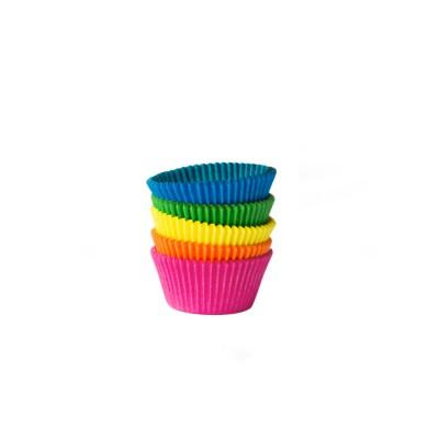 Košíček na zákusky pr. 25x18 mm Farebný mix / bal. 200 ks