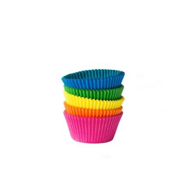 Košíček na zákusky pr. 35x20 mm Farebný mix / bal. 100 ks