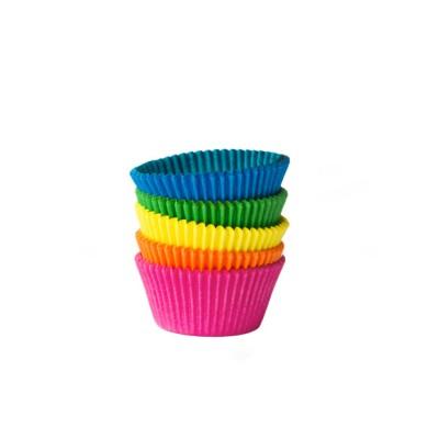 Košíček na zákusky pr. 50x30 mm Farebný mix / bal. 100 ks