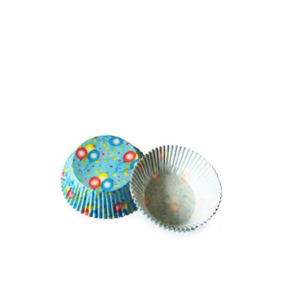 Košíček na zákusky pr. 50 mm Balóniky / bal. 40 ks