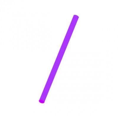 Slamky JUMBO 25 cm, pr. 8 mm Fialové / bal. 150 ks