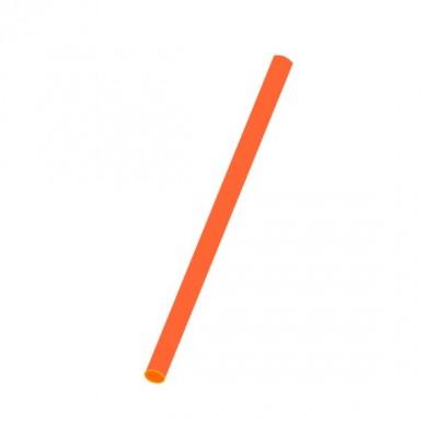 Slamky JUMBO 25 cm, pr. 8 mm Oranžové / bal. 150 ks