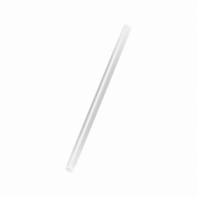 Slamky JUMBO 25 cm, pr. 8 mm Biele / bal. 150 ks