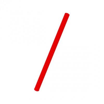 Slamky JUMBO 25 cm, pr. 8 mm Červené / bal. 150 ks