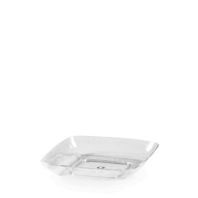 FINGERFOOD Tanier štvorcový 6,2x6,2x1,2 cm / 50 ks