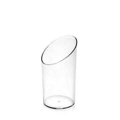 FINGERFOOD Pohárik okrúhly 65 ml, pr. 4,5 cm, výška 8,4 cm / bal. 20 ks