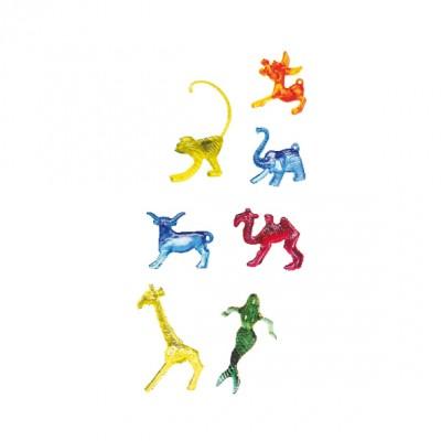 Dekoračné figúrky plastové Mix 7 druhov / bal. 100 ks