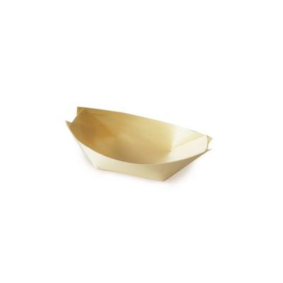 Miska lodička drevená 8x5,5 cm / bal. 100 ks
