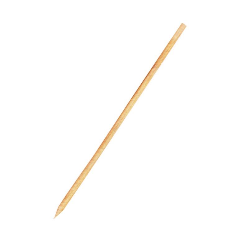 Špajdle drevené ostré 25 cm, pr. 3 mm / bal. 100 ks