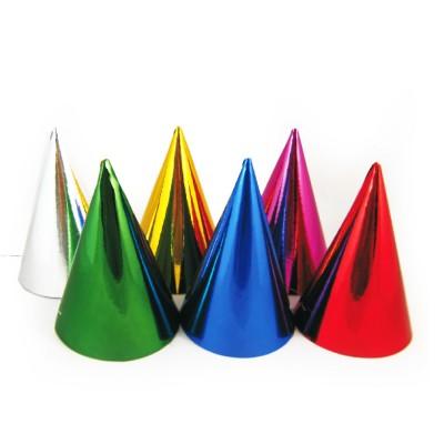 Klobúčiky papierové Farebný mix / bal. 6 ks