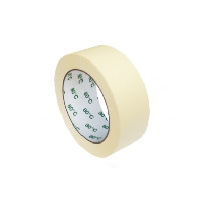 Lepiaca páska krepová 38 mm x 50 m do +80 °C Biela