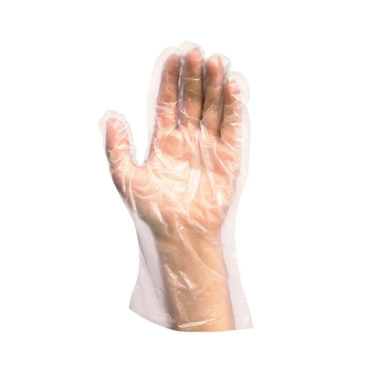 Rukavice igelitové ženy veľkosť M / bal. 100 ks