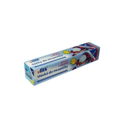 Vrecko mikroténové do mrazničky 20x30 cm / v  rolke 40 ks