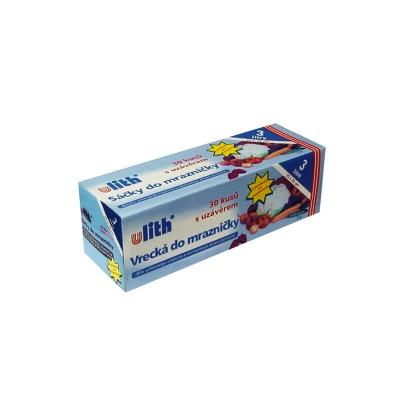 Vrecko mikroténové do mrazničky 25x32 cm / v  rolke 30 ks