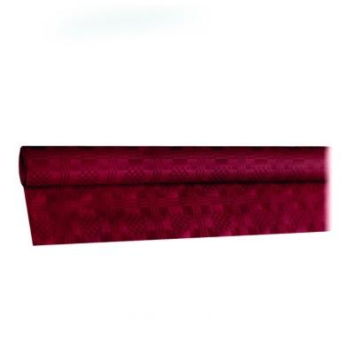 Obrus papierový 8x1,2 m Bordový