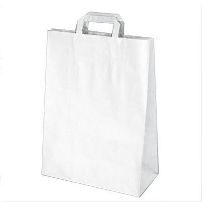 Taška papierová 32x15x43 cm Biela