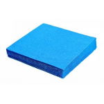 Obrúsky 33x33 cm 3-vrstvové Modré / bal. 20 ks