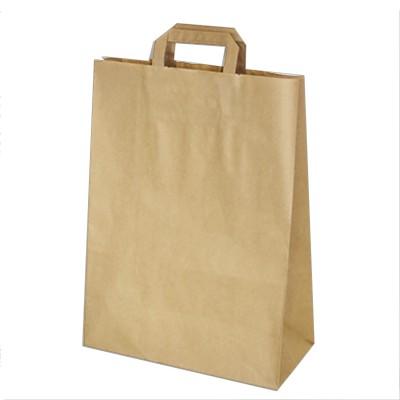 Taška papierová 32x15x43 cm Hnedá