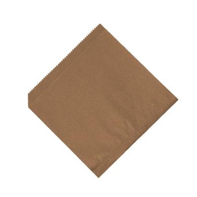 Vrecko na hamburger 16x16 cm Hnedé / bal. 500 ks