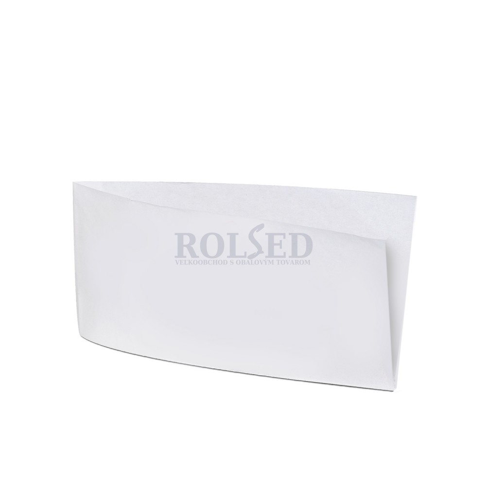 44f5d3f98 Vrecko papierové na párok v rožku 9x19 cm Biele / bal. 500 ks